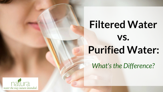 Drinking Water – Filtered Versus Spring Water